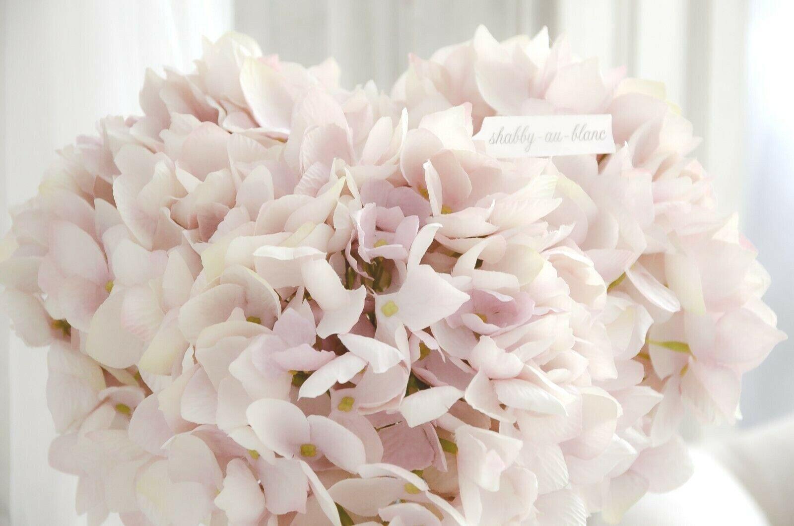 Hortensie Kunstblumen Seidenblumen Blumen Blume Shabby Chic Landhaus