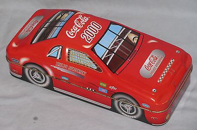 Coca-Cola 2000 Race Car Tin Free Shipping