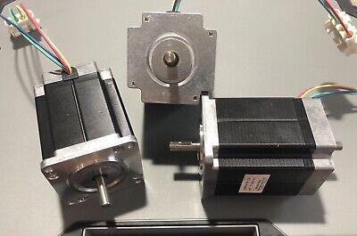 Set Of 3 Minebea Dual Shaft Stepper Motors