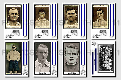 TOTTENHAM -  CIGARETTE CARD HISTORY 1900-1939 - Collectable postcard set # 3