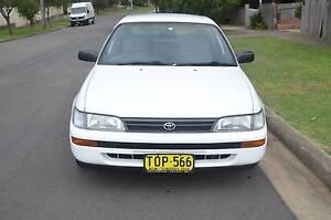 1994 Toyota Corolla Hatchback AUTO,AIR,STEER,REGO CHEAP CHEAP Pendle Hill Parramatta Area Preview