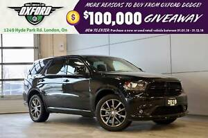 2018 Dodge Durango GT - AWD, clean, low kms, paddle shifters