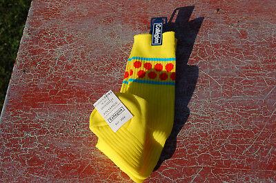 Socke vintage gelb Gewicht orange - 39/40 collégien - Kostüm B9