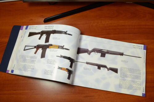 Rare Album Product catalog of IzhMash Kalashnikov plant