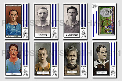 CHELSEA - CIGARETTE CARD HISTORY 1900-1939 - Collectable postcard set # 1