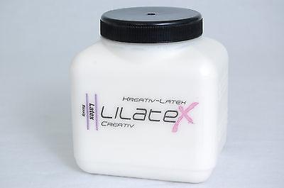 Lilatex Flüssiglatex / Latexmilch 1Liter/1000ml  --- Das Weltmeister-Latex