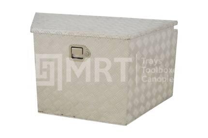 ALUMINIUM DRAWBAR TOOLBOX MRT19 – 865/480mm x 450mm x 465mm