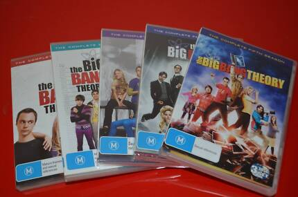 The Big Bang Theory DVD Set from Season 1 to Season 5 Hoppers Crossing Wyndham Area Preview