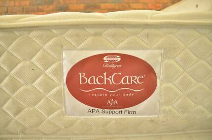 BackCare queen mattress,with/without base (Can Deliver)