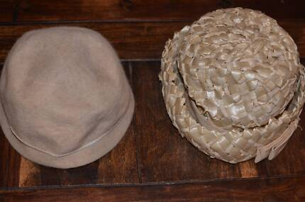 Vintage hats, homemade - sale proceeds to be donated