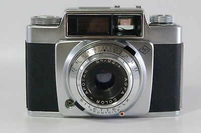 View finder camera Agfa Silette-LK with Apotar 45mm F2.8 Ref. 381810