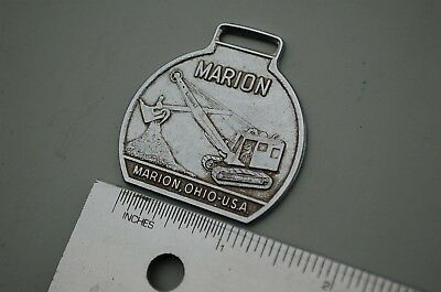 Marion Dragline Shovel Excavator Watch Fob Tyler Heavy Equipment Earth Corp