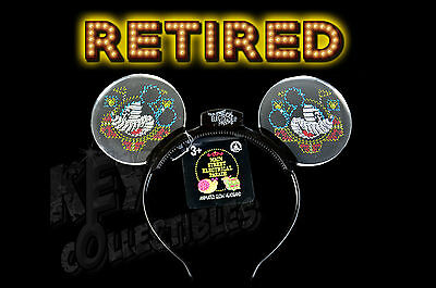 Disneyland Main Street Electrical Parade Light Up Mickey Ears Headband   Retired