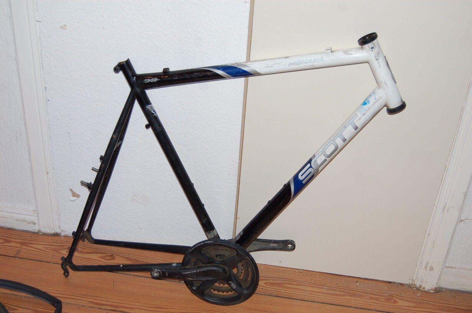 26 Zoll Rahmen & Gabel Set Mountainbike Rahmen RST