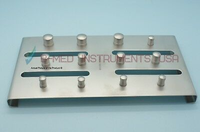 Rubber Dam Clamp Holder Tray Sterilization Stand Endodontic Dental Instrument