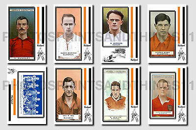 BLACKPOOL - CIGARETTE CARD HISTORY 1900-1939 - Collectable postcard set # 1