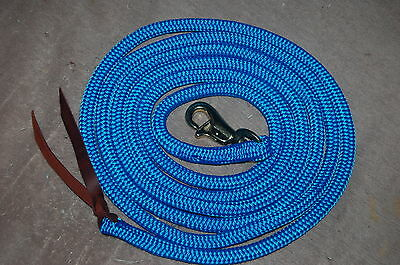10' BLUE TRAINING YACHT ROPE LEAD FOR PARELLI METHOD