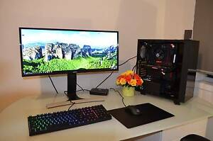 ** High-End Gaming Full complete setup pc GTX 1080 ** Bundoora Banyule Area Preview