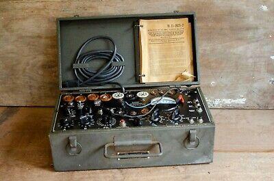 Military Signal Corps I-177-b Mutual Conductance Tube Tester