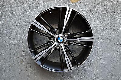 Set of 4 Wheels 18 inch Matt Black Rims fits 5x120 ET30 BMW Z4 3.5 2012