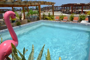 Oceanfront Mamita's - Private Pool & Rooftop in Playa del Carmen