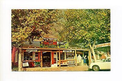 Oak Glen Yucaipa CA San Bernardino Co, people, store, car, 1970 (San Bernardino Stores)