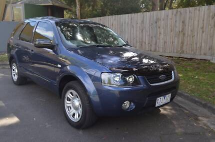 Ford Territory Wagon Low KMS Roadworthy + Long Registration Oakleigh South Monash Area Preview