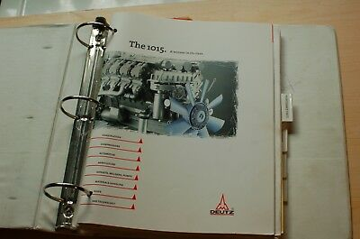 Perkins 1015 Industrial Diesel Engine Parts Manual Book Catalog List Spare Owner