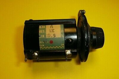 Beckman Helipot 10 Turn 1k 5 Precision Potentiometer With Vintage Dial
