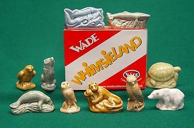 Wade Ten Piece 1999 ENDANGERED ANIMAL Set with Wade Box