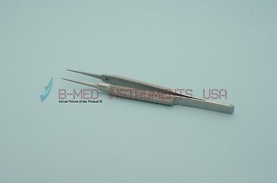 Or Grade Tennant Tying Suture Forceps Straight 6mm Platform Ophthalmic