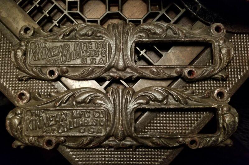 Antique Turn Of The Century Rolling Fire Door Handle