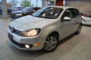 2012 Volkswagen Golf  Golf TDI Comfortline * 1 OWNER * ACCIDENTS