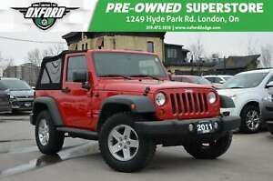 2011 Jeep Wrangler Sport - New Soft Top, Rubicon, 6 Speed Manual