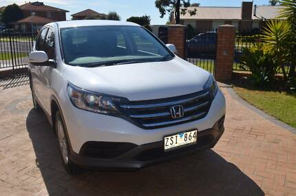 2013 HONDA CR V AUTO ORCHID WHITE Taylors Lakes Brimbank Area Preview