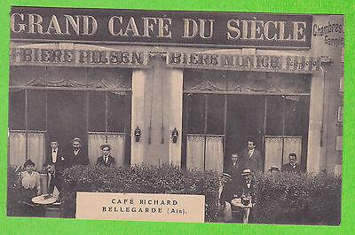 Image of 01 BELLEGARDE Café RICHARD Belle Animation CP non voyagée