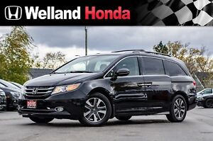 2015 Honda Odyssey Touring - NAVIGATION| LEATHER| SUNROOF