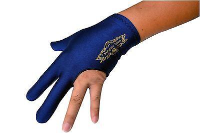 Champion Sport Dark Blue Billiards Left Hand Glove For Pool Cue