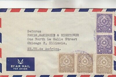 Paraguay Airmail Cover