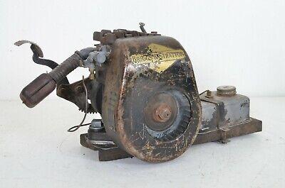 Antique Briggs Stratton Kick Start Engine Model Wmb Type Number 95471 Untested