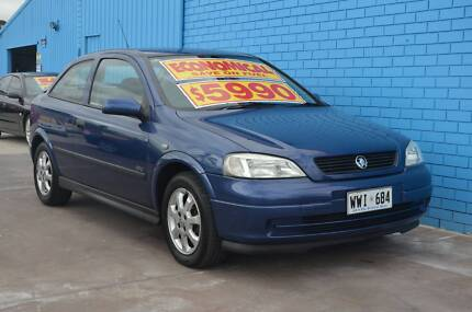 2002 Holden Astra Hatchback-MASSIVE CLEARANCE SALE! Enfield Port Adelaide Area Preview
