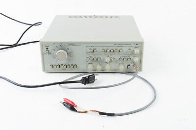 Leader 2-mhz Sweep Function Generator Frequency Lg 1301