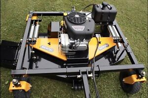 """17.5 HP Berco 60"""" Tow Behind Finish Mower clearance $1749.99"""