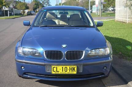 2003 BMW 318i LOW KMS,LOG BOOKS,AUTO,AIR,STEER,LONG REGO,LEATHER