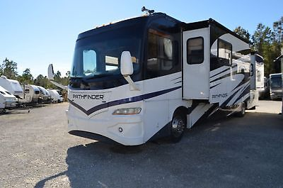 Used Diesel Pusher 2007 Coachmen Pathfinder 373DS Class A Motor Home RV For Sale