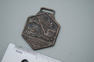 Thew Lorain Crawler Crane Shovel Dragline Moto Vintage Watch Fob Eastern Eqt Co