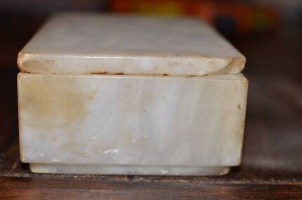 Retro alabaster dish - sale proceeds to be donated