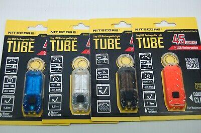 Nitecore Tube T-Serie 45 Lumen Schlüsselbundlampe LED verschiedene Farben 45 Lumen-led