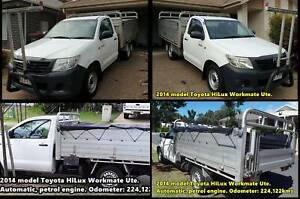 Toyota Hilux Workmate Ute 2014 Kallangur Pine Rivers Area Preview