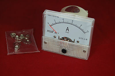 Ac 10a Analog Ammeter Panel Amp Current Meter 85c1 0-10a Ac Directly Connect